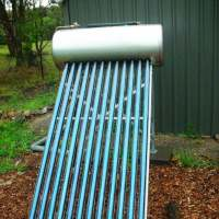 Gravity Feed Solar Hot Water