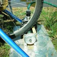 Pedal Power - Water Pump Conversion