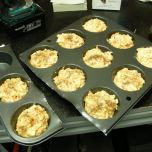 Trimming down the muffin tin