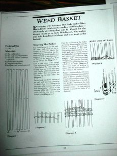 Weed Basket pattern